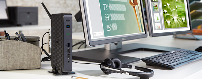 Wyse Intel-based 3000 Series Thin Client.